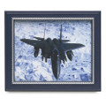 "Military-Themed Picture Frames - 18"" x 24"",  Navy Blue, NSN 7105-01-458-8231"