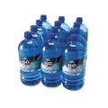 100% Pure Natural Bottled Spring Water, 1-Liter Size, 12 Bottles/carton