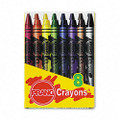Crayons Made with Soy, 8 Colors/Box