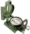 Compass, Lensatic, Tritium (27 mCi – for Japan), Phosphorescent Added, Olive Drab