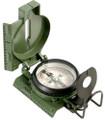 Compass, Lensatic, Tritium (27 mCi – for Japan), Phosphorescent Added, Olive Drab