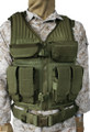 Blackhawk: Omega Elite Tactical Vest #1, OD Green (30EV03OD), NSN 8415-01-529-7472