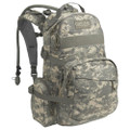 Camelbak Linchpin 100 oz/3.0L, NSN 8465-01-592-2359, Mil-Spec Antidote (Long) Reservoir, AUC (Army Universal Camo)