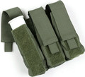 PROTECH TACTICAL, LESS LETHAL, 37/40mm Less Lethal Pouch - Triple, P/N: TP12B