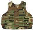 Body Armor, Interceptor (IBA), Outer Tactical Vest (OTV), NSN 8470-01-497-8598, Woodland Camo, X-Large