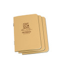 Copy of RITE IN THE RAIN 971TFX-M (STAPLED MINI-NOTEBOOK - UNIVERSAL - TAN - 3 PACK)