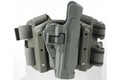 Blackhawk: Serpa Tactical Level 2 Holster, Foliage Green (Left Hand Draw), US Army Medallion (430504FG-L-ARMY)