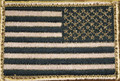 Blackhawk: Patch, Americam Flag Tan/Black - Reversed (90DTFV-R)