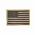 Blackhawk: Patch, American flag ,subdued w/hook & loop (90SAFV)