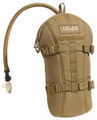 Camelbak ArmorBak 3.0L (100oz) Hydration System, NSN 8465-01-580-8558, Coyote Brown, Mil-Spec Antidote (Short) Reservoir