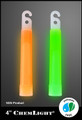 Cyalume 4-inch Green 6-Hour Chemlights, NSN 6260-00-106-7478