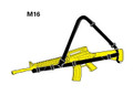 M4/M16 US Army RFI-Issue 3-Point Sling, NSN 1005-01-541-1771