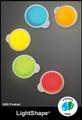 Cyalume 3-inch Orange 4-hour LightShapes, NSN 6260-01-334-4273