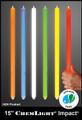 Cyalume 15-inch Green 12-hour Chemlights (Single End-Ring), NSN 6260-01-247-0362