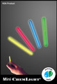 Cyalume 1.5-inch IR (Infrared) 3-hour Chemlights, NSN 6260-01-247-0364