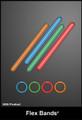 Cyalume 7.5-inch Orange 4-hour Flexible Bands (Chemlights), NSN 6260-01-230-8597