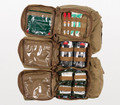 Warrior Aid & Litter Kit (WALK), Coyote Brown, NSN 6545-01-587-1199