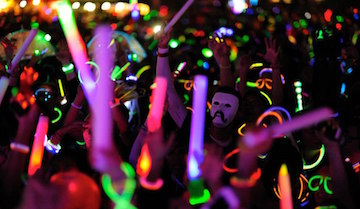 Led foam sticks led batons lite stix are the ultimate for 13th floor glow stick