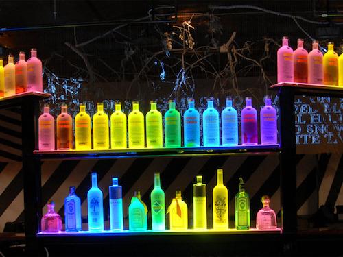 LED LIQUOR SHELVES