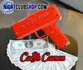 Cash Cannon, Make it Rain, Money, Gun, Shoot, bills, air, flyer,coupon, distribution, promo, tool