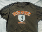 Wander on Water...Stand up Paddle Board Shield T-shirt