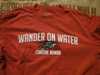 Wander on Water Kayak t-shirt.