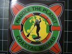 Paddle the Planet sticker.{rasta}