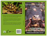 """""""Red-footed Tortoises in Captivity"""" Book"""