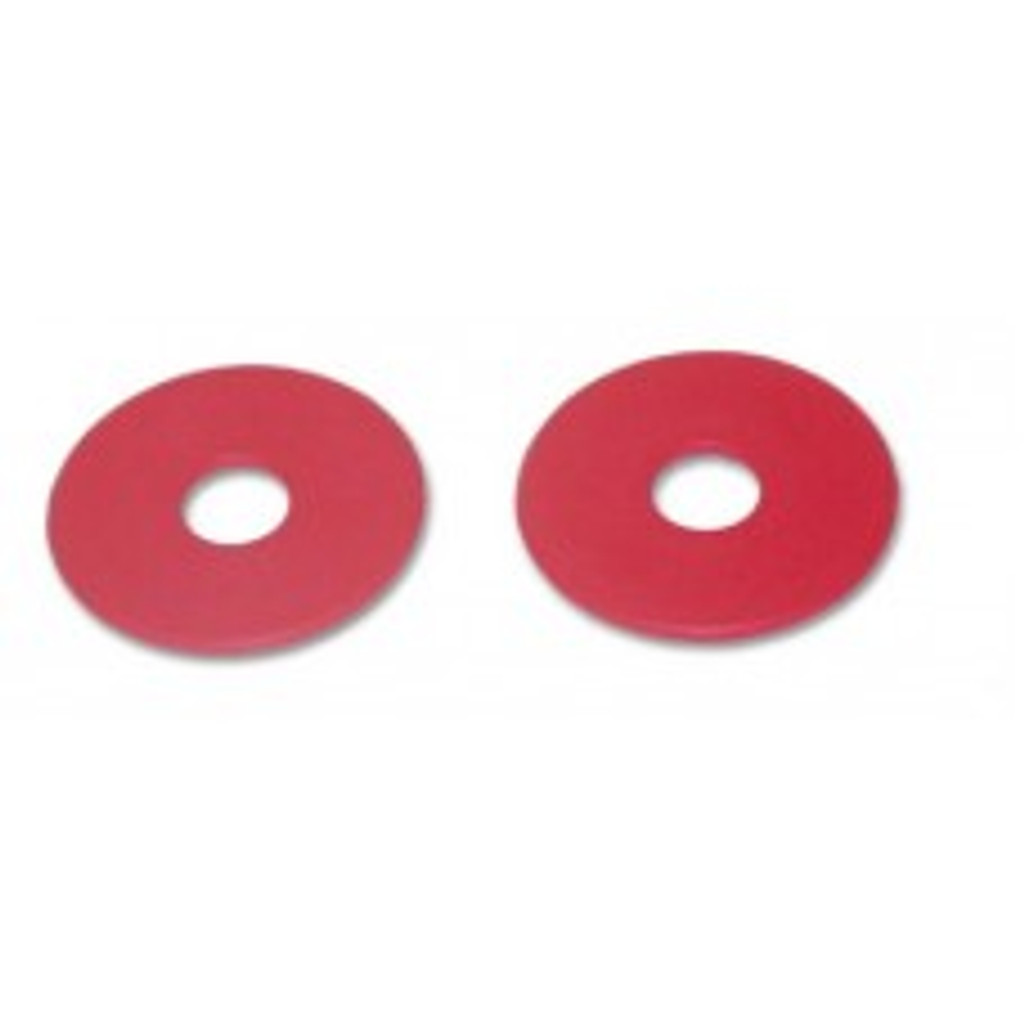 CLEARANCE: Rubber Bit Guards Pk/2 (Red)