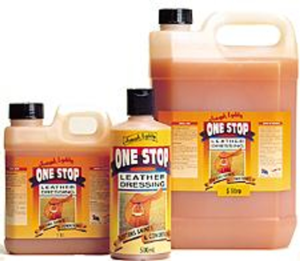 One stop leather dressing, 500ml, 1l and 5l