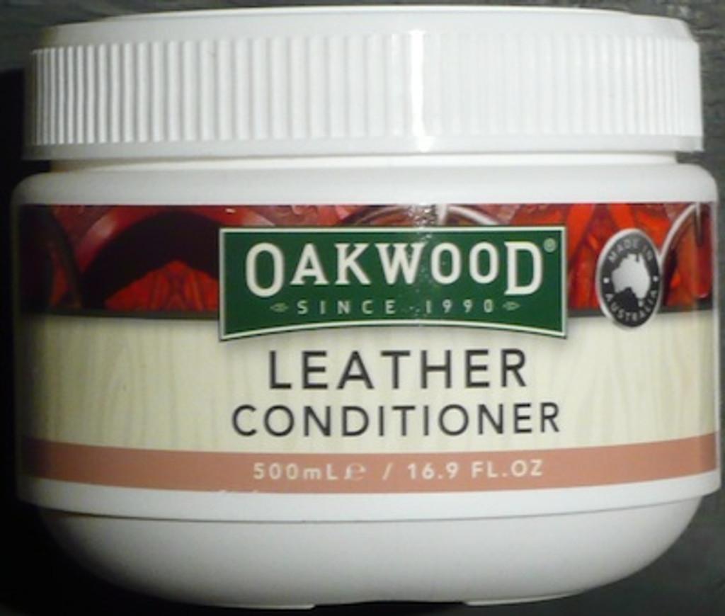 Oakwood leather conditioner 500ml