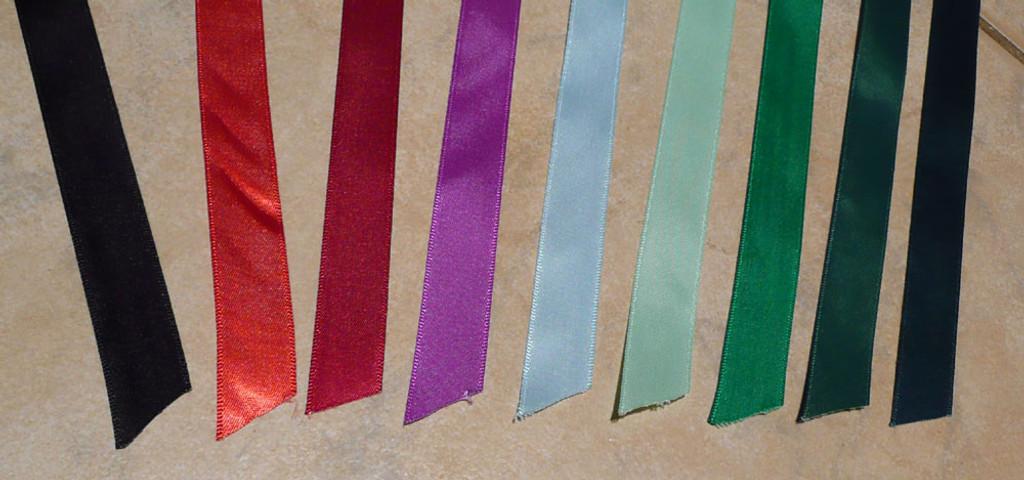 DIY Browband Supplies: Birch Satin Craft Ribbon 15mm