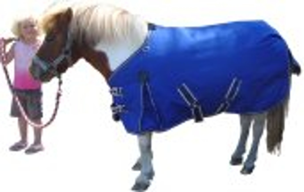 Eureka Miniature Pony Synthetic Rug