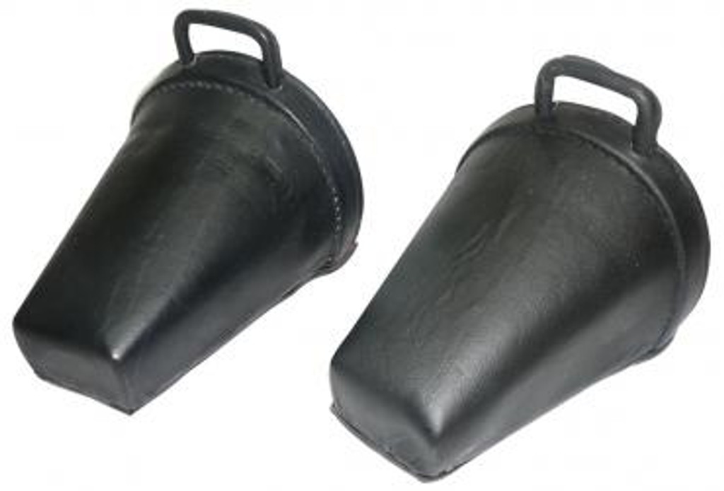 Childrens Leather Safety Clogs