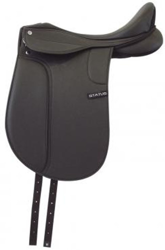 Status Synthetic Dressage Saddle (Unmounted)