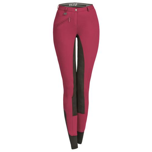 ELT Micro Sport Pro Ladies Breeches (Cherry)