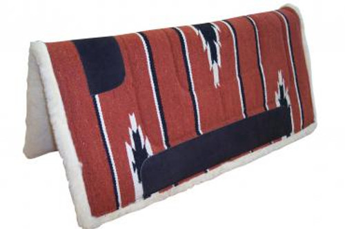 Navaho Western Saddle Pad With Fleece