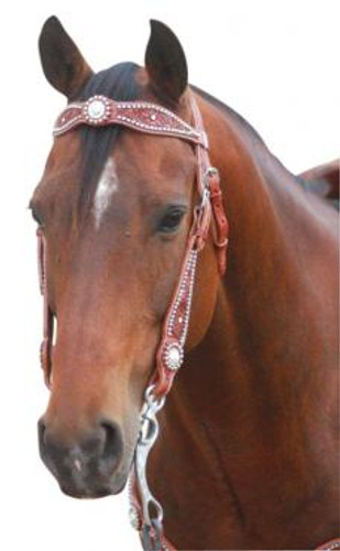 Western Bridle With Swarovski Crystal & Studs