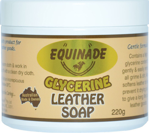 Equinade Glycerine Leather Soap 220 gram