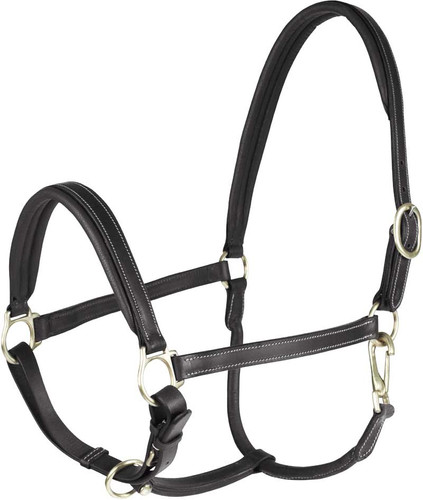 Horze Leather Largo Halter
