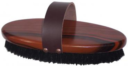 Body Brush Grained Wood Backed Large