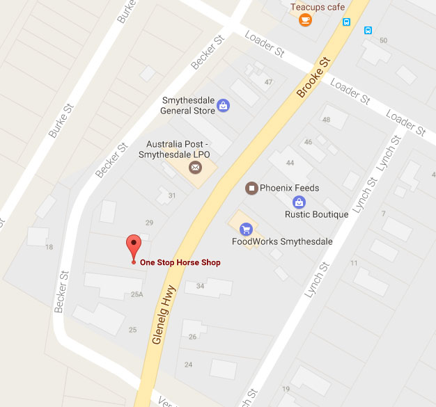 View Map on Google