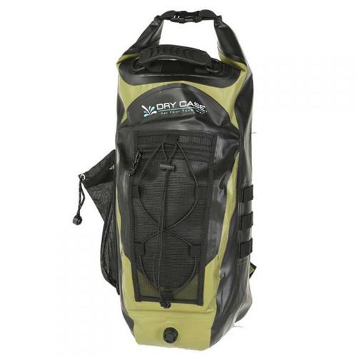 DryCASE BP-35 Waterproof Backpack l Green