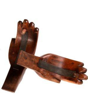 Beatnik Wooden Hands Surfboard Wall Rack SUP