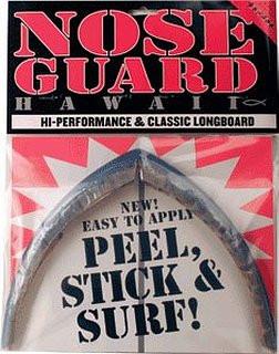 Surfco Longboard Nose Guard Grey