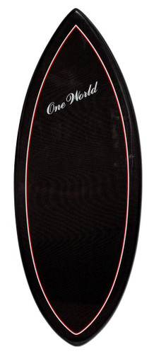 One World 54 Inch Carbonfiber Skimboard