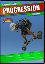 Progression Kite Landboarding Beginner DVD l Free Shipping