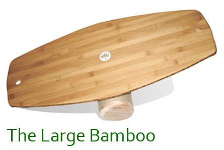 The Bamboo Lotus Balance Board