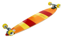 "Atom 39"" Pintail Longboard l Yellow Bottom"