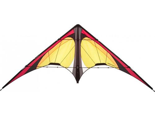 HQ Atomic Lemon Dual Line Stunt Kite